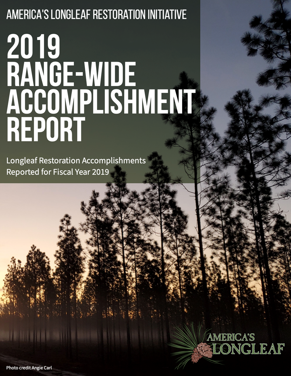 2019 Range-Wide Accomplishment Report